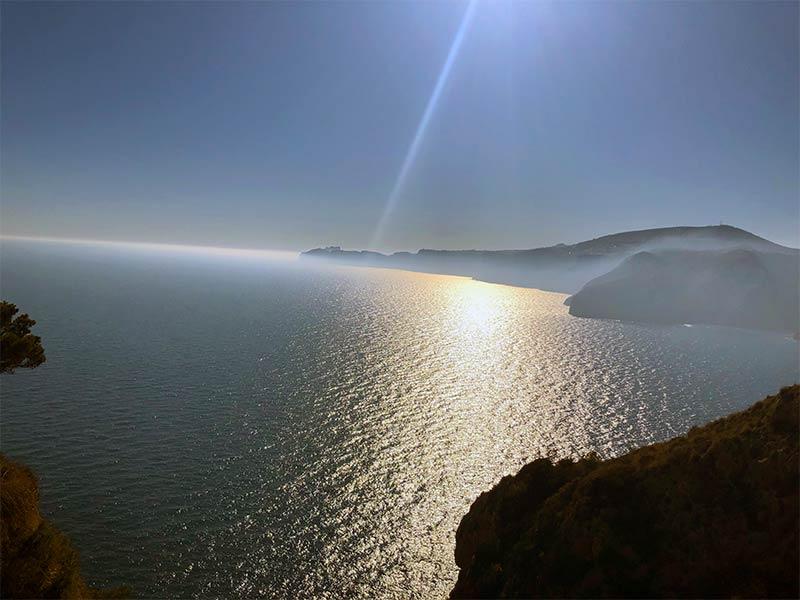 Morning Sun on Ambolo Beach